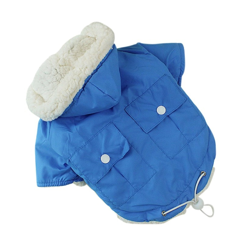 Winter Dog Clothes For Small Dogs Warm Pet Dog Down Parkas Clothing For French Bulldog Pug Clothes Winter Chihuahua Pug Coats