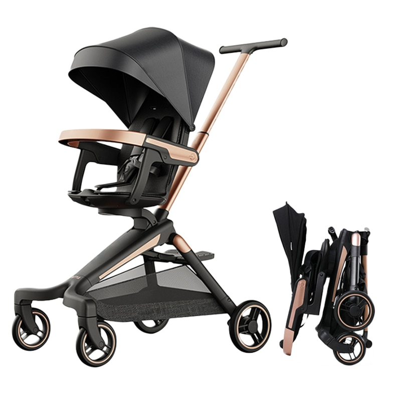 Baby Lightweight Stroller Summer Foldable Infant Baby Car Children Pushchair 360 Rotation Seat Kids Trolley Baby Carriage Cart