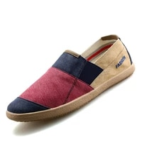 men causal shoes breathable wide slip on canvas sneakers male linen shoes summer fashion espadrilles men trend shoes new loafers