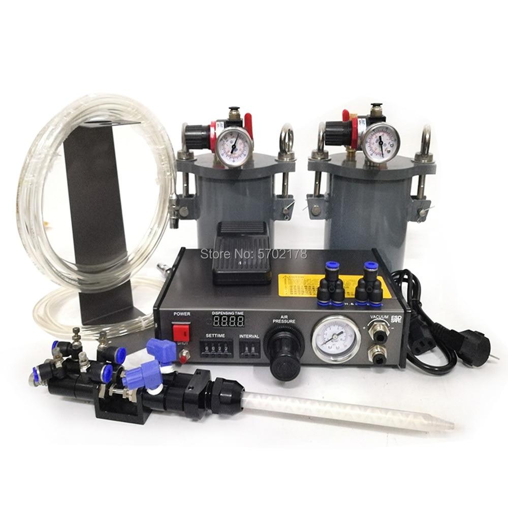 الدقة الراتنج السيارات موزع الغراء لحام لصق السائل تحكم قطارة السائل موزع بتكلفة منخفضة