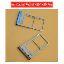 for Xiaomi Redmi K20/ K20 Pro Card Tray Holder Micro SIM Nano SIM SD Card Card Slot Adapter Holder Repair Spare Parts