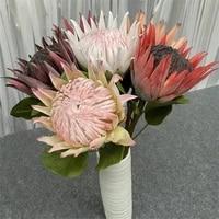 Grande branche de fleur de Pitaya en soie  Simulation depiphyllum artificiel  pour decoration florale de mariage et de maison