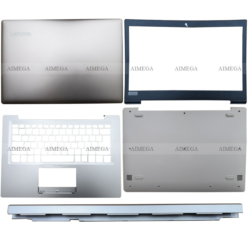 NEW Laptop For Lenovo Ideapad 120S-14IAP S130-14IGM Computer Case LCD Back Cover/Front Bezel/Hinges Cover/Palmrest/Bottom Case new laptop for hp probook 450 g3 455 g3 computer case lcd back cover front bezel hinges cover palmrest bottom case bottom cover