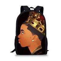 black art african boy print kids school bags for boys teenager boy school backpacks mochila feminina drop shipping