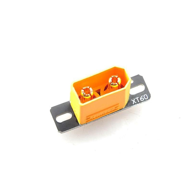 5 uds XT60 conector PCB Placa de soldadura de asiento fijo para QAV250 marco Kit RC Dron de carreras con visión en primera persona