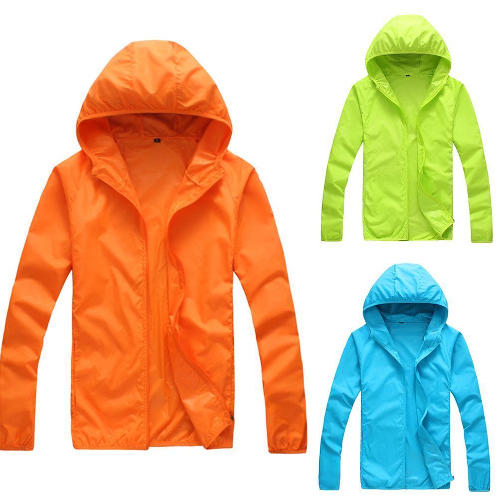 Quick Dry Skin Coat Sunscreen Waterproof UV Women thin Army Outwear Ultra-Light Windbreake Jacket Women Men Windproof Coat Jacke