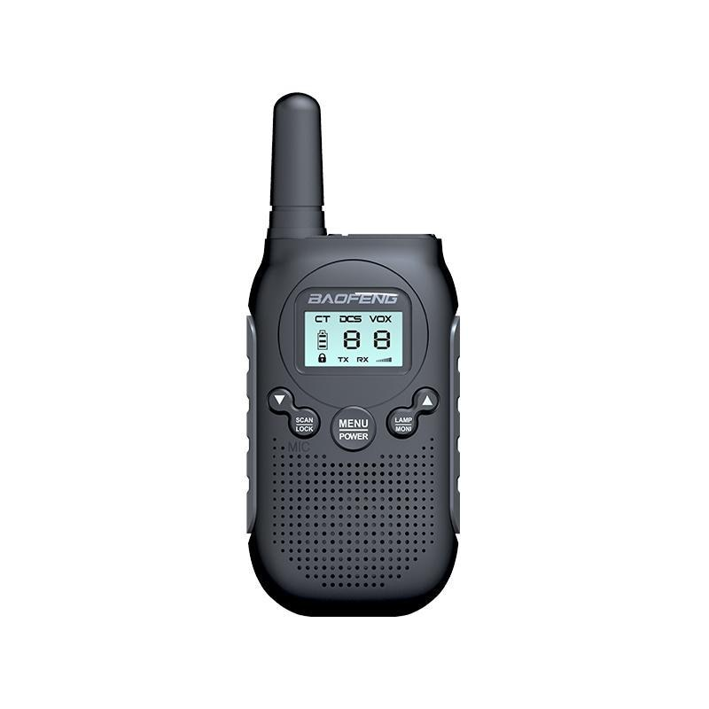 T6 Children's Walkie-talkie Toy Simulation Radio High-power Wireless Communication Hand Station Upgraded Version Electronic Toy