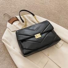 Fashion Large-capacity Large PU Leather Crossbody Bags for Women 2020 Winter New Handbag Luxury Desi