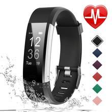 Foloy men watch Digital wristwatches women health Bracelet Heart Rate Blood Pressure Smart Band Fitn
