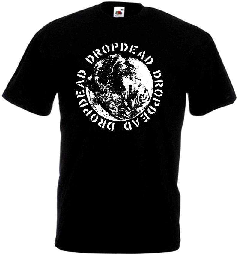 Camiseta Dropdead V9 negra Hardcore Punk Grindcore, todas las tallas S-3XL, camiseta de marca 2020 para hombre, camiseta de manga corta de talla grande