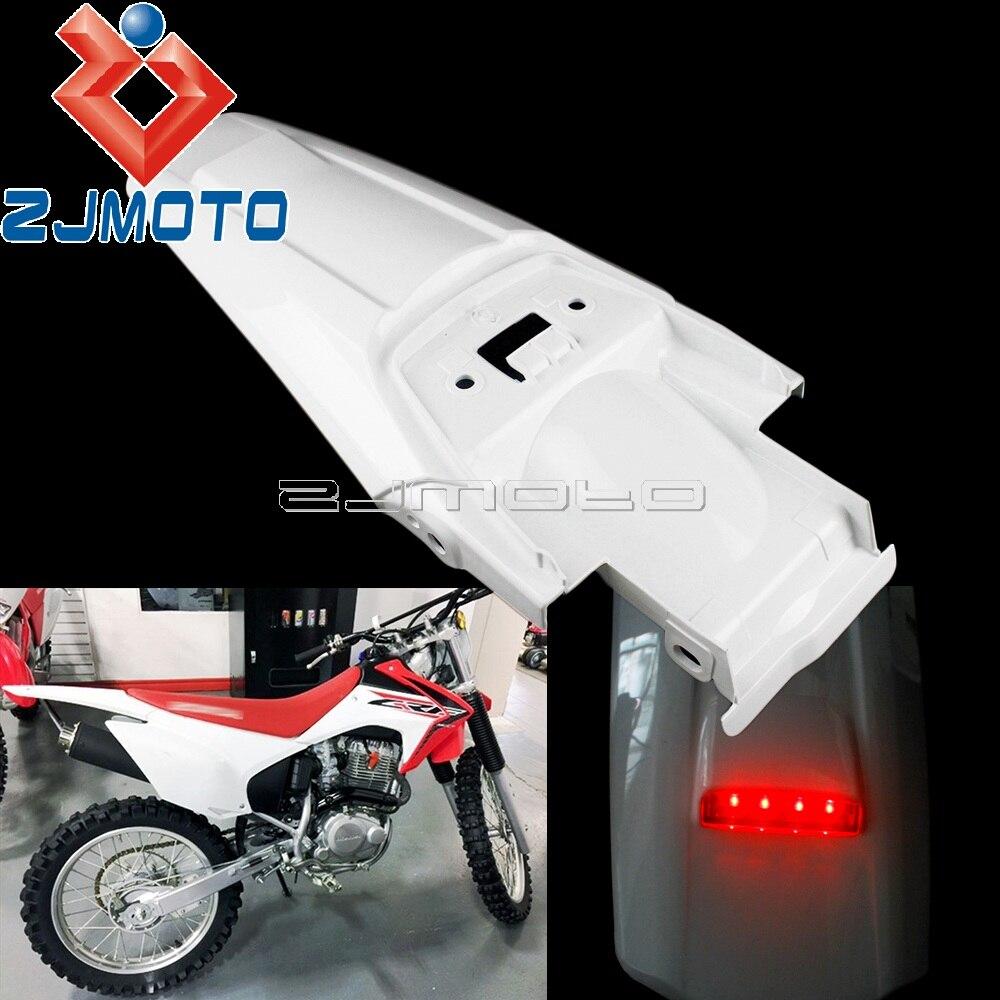 Dirt Pit bicicleta luz trasera LED guardabarros para Honda CRF230F CRF 230 2015-2018 2019 Enduro guardabarros trasero con luz de freno