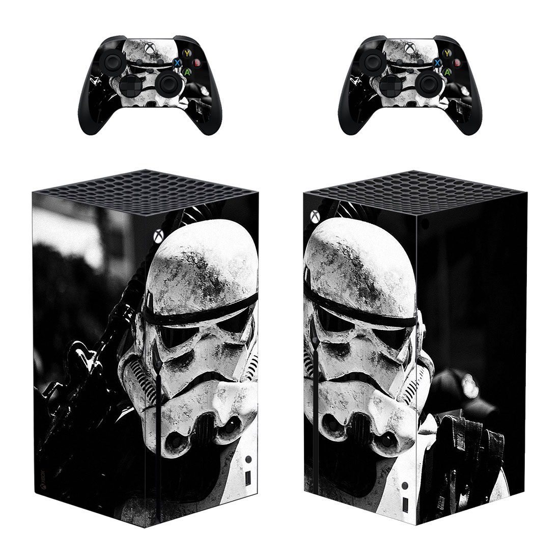New Film Skin Sticker Decal Cover for Xbox Series X Console and 2 Controllers Xbox Series X Skin Sticker Vinyl