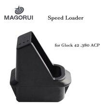 Chargeur de vitesse MAGOURI pour Glock 42 .380 ACP, chargeur de vitesse chargeur de pistolet