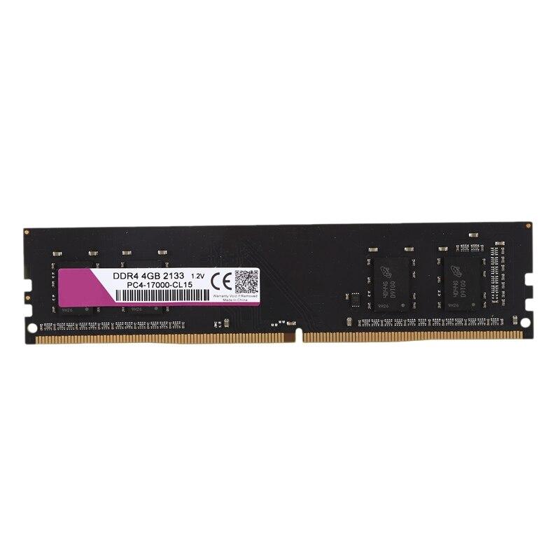Memória ram de 1.2 pinos dimm da memória ram do computador ddr4 288 v para a ram do computador do desktop