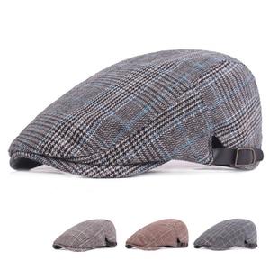 Outdoor Golf Hat Men Sports Vacation Striped Caps Fashion Newsboy Berets 2021 Novelty Summer Autumn Hiking Shopping Hats