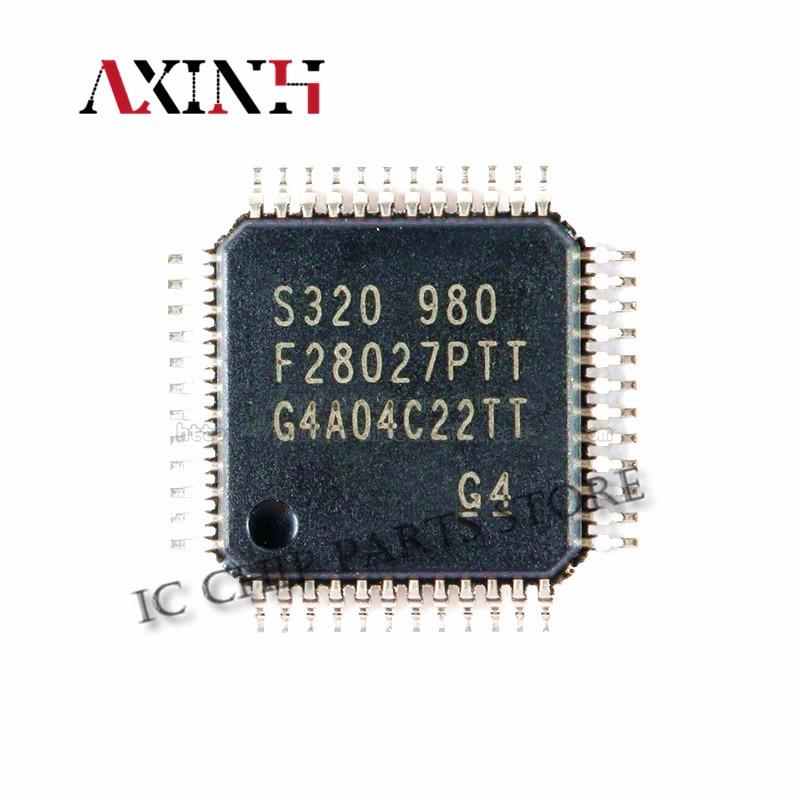 TMS320F28027PTT 5 قطعة شحن مجاني QFP48 TMS320F28027 F28027PTT QFP-48 100% الأصلي جديد في المخزون