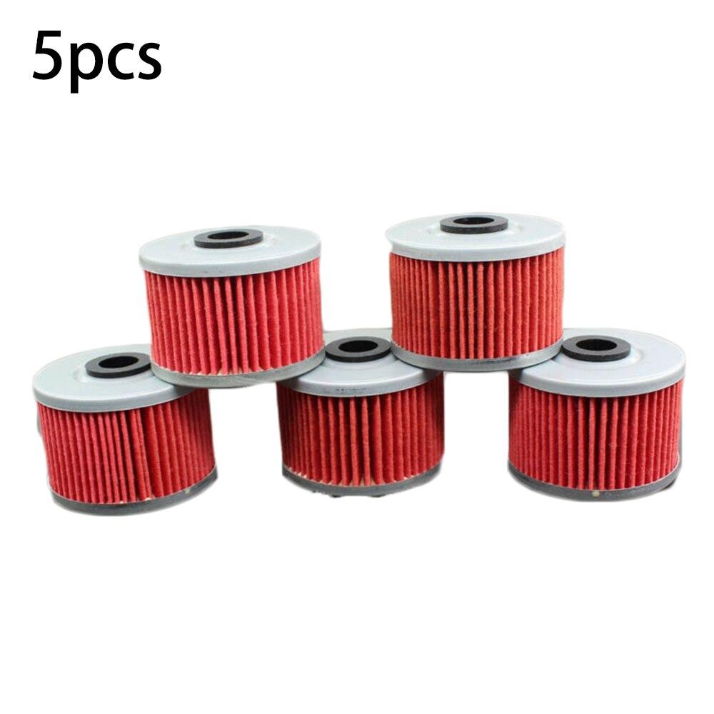 5 uds filtro de aceite para Honda XR200R XR250 XR250R XR400R CBR250R XR600R XR 650 R KLX