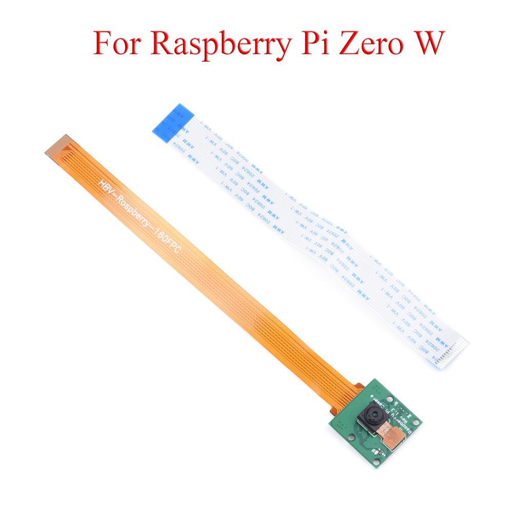 Módulo de Câmera Webcam para Raspberry 3b + 2b com Substituível Raspberry Zero 4b Adaptador Dedicado Cabo pi 5mp w