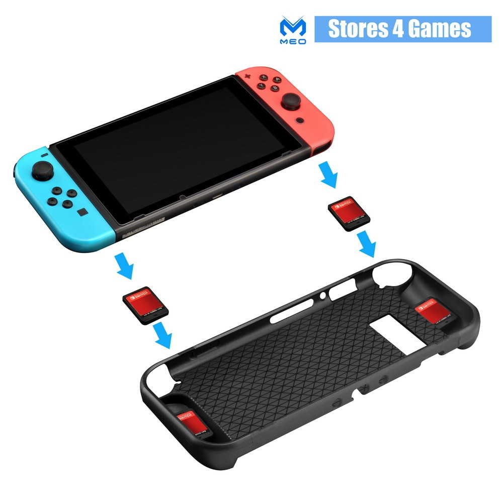 Multi TPU Shell Soft Protective Case Guard Cover For Nintendo Switch card Holder Ergonomic Handle Grip Accessories enlarge