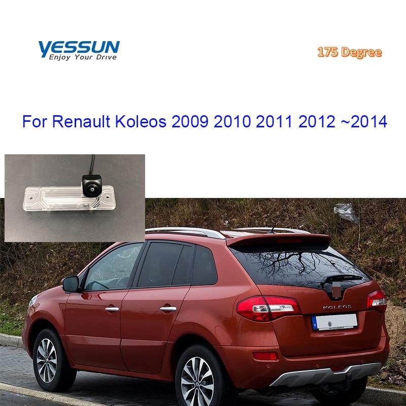 Yessun AHD720p CCD HD noche visión coche vista trasera copia inversa cámara para Renault Koleos 2009, 2010, 2011, 2012, 2013, 2014
