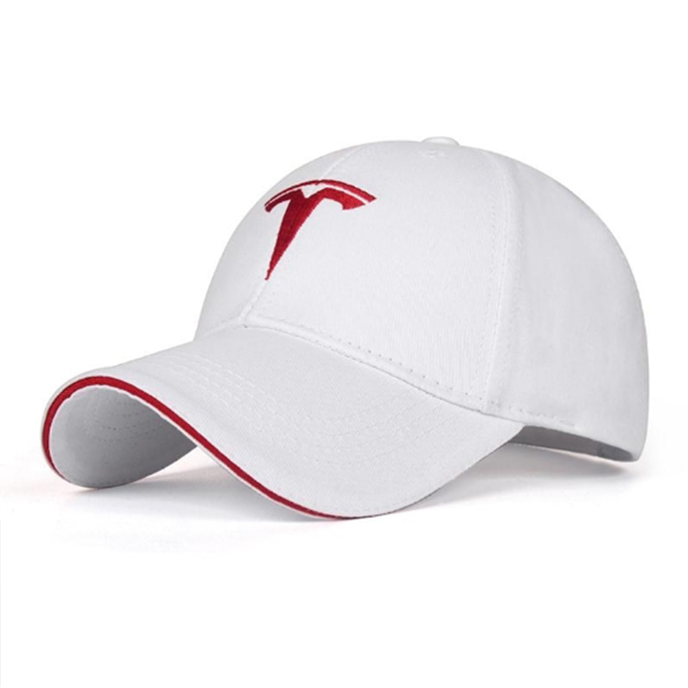 Car sticker sun hat embroidery double-sided wearable four seasons sun protection fashion For Tesla Model 3 X S Y accessories
