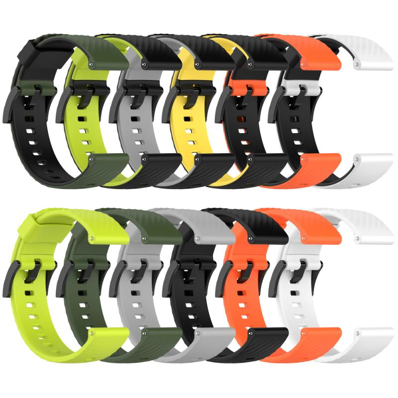 watchband for suunto 9 peak suunto 3 watch strap band soft silicone wristband bracelet replace accessories For Suunto 7/Suunto 9 Replacement Wristband Soft Silicone Sports Watch Strap For Suunto 9 Baro/9 Spartan/9 GPS Watch Band Newest