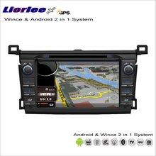 Liorlee pour Toyota RAV4 / Vanguard 2013-2014 voiture Android multimédia Radio CD lecteur DVD GPS Navi Navigation Audio vidéo stéréo