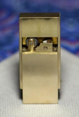 JHCP montre vidéo à la main en laiton Pull-type rétro huile briquet 55*30*12mm 165g