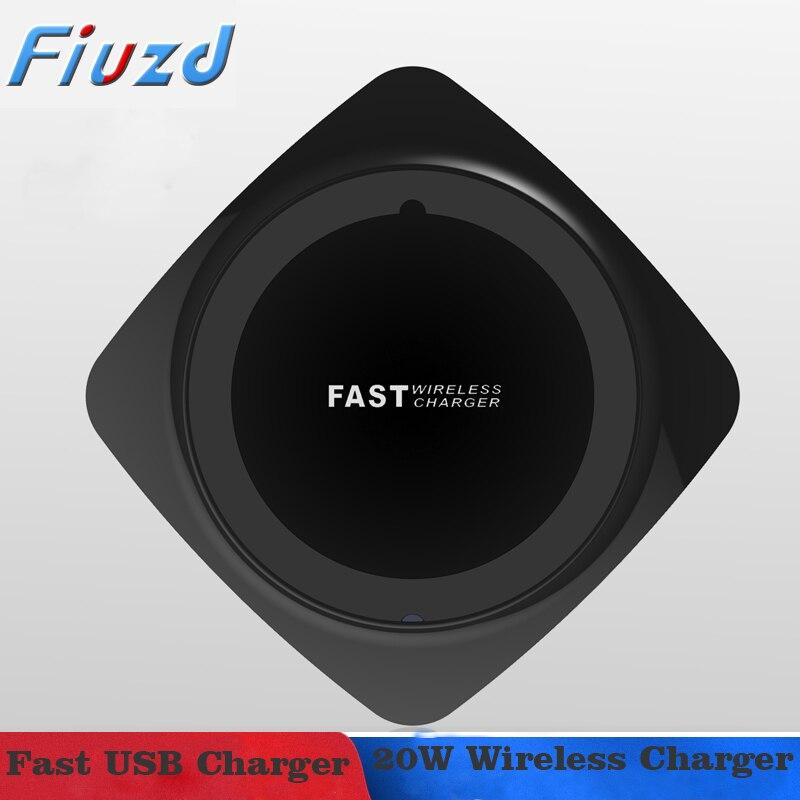 Chargeur sans fil 20W Qi pour Huawei p30 20 10 pro lite p 30 p 20 p 10pro lite mate 20 chargeur rapide pour honor 9x honor 8x honor 20