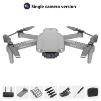 e99 pro2 rc mini drone 4k dual camera wifi fpv aerial photography helicopter foldable quadcopter dron toys