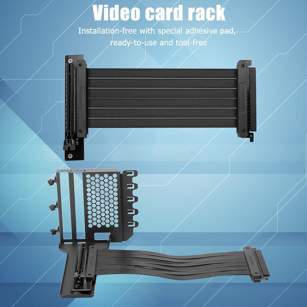 PHANTEKS بطاقة جرافيكس حامل حامل معدني بطاقة الفيديو تمديد تصاعد قوس ل 7 PCI الهيكل PC حالة لا قطرة الإطار عالية st
