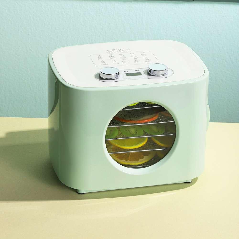 Интеллектуальная сушилка для пищевых продуктов, Индукционная Автоматическая холодильная Бытовая сушилка для фруктов и домашних животных, ...