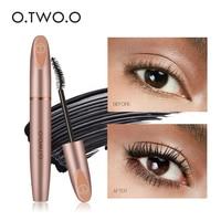 O.TWO.O 4D Silk Fiber Eyelash Mascara Cosmetics Mascara Waterproof Ink Rimel For Eyelash Extension Curling Thick Eye Lashes
