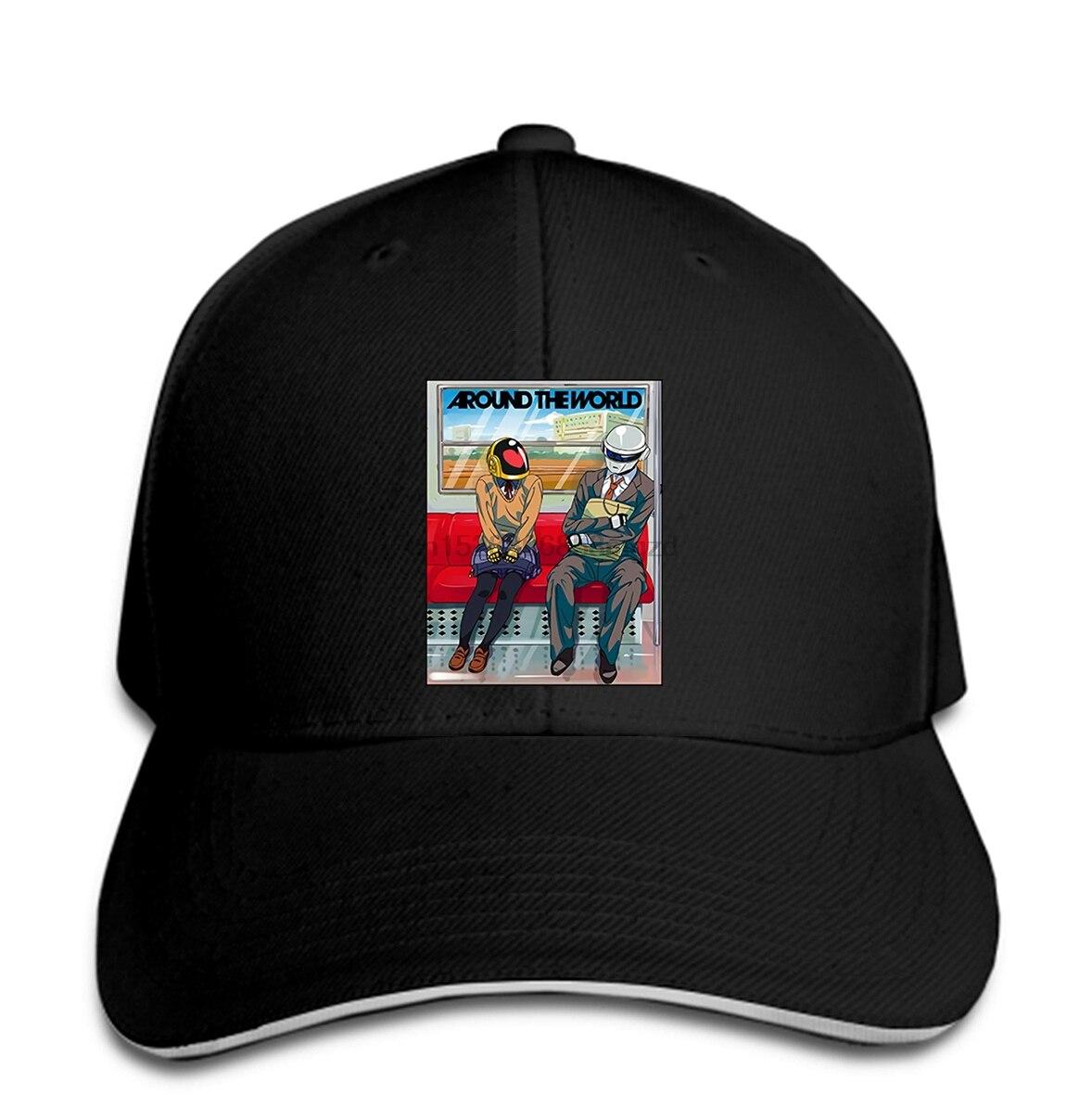 Daft Punk Around The World Hat Snapback Cap Women Hat Peaked