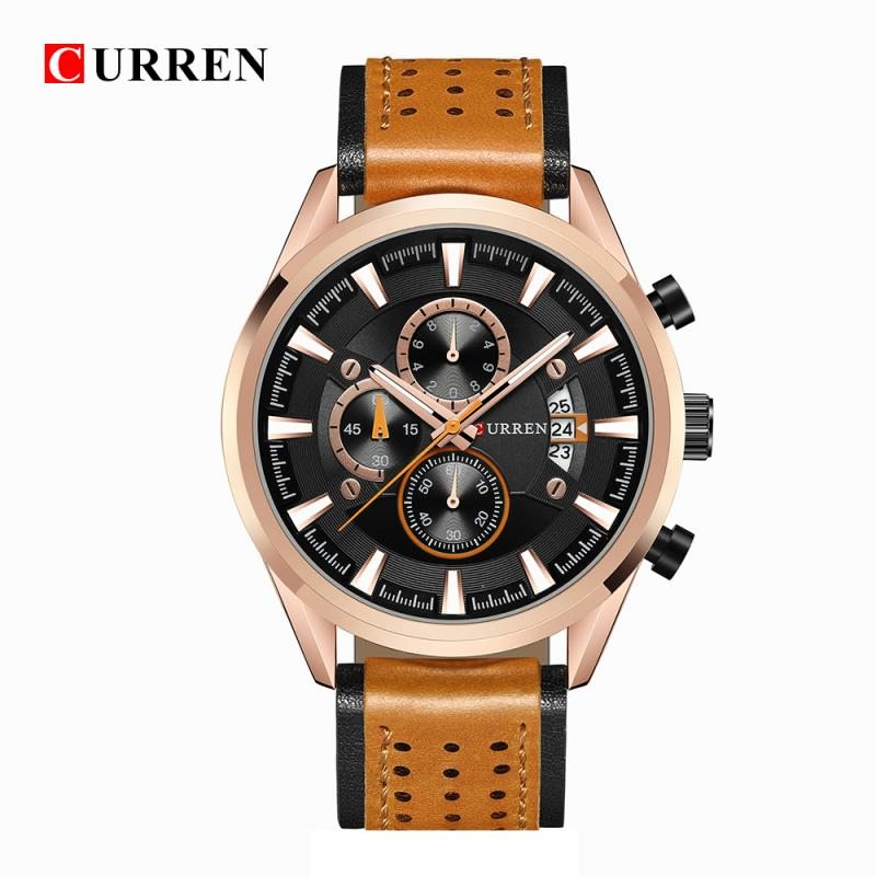 CURREN Fashion Quartz Watch Men Watches Top Brand Luxury Male Clock Business Mens Wrist Watch Hodinky Relogio Masculino