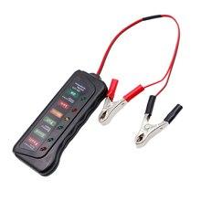 12 24v автомобиль Батарея Тесты er многофункциональный автомобильный диагностический инструмент цифровой автомобильный генератор переменного Батарея Тесты 6 светодиодный свет Дисплей