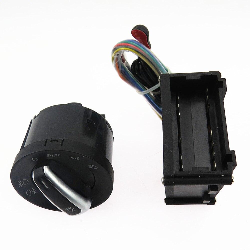 SCJYRXS модуль датчика фар + переключатель управления для Passat B5 Golf MK4 Bora Beetle Polo 5ND941431B 5ND 941 431B