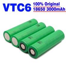2019/100% oryginalny VTC6 18650 V 3000 mAh akumulator litowo-jonowy 3,7 para SONY us18650 vtc6 3000 mAh bateria USO juguetes herrament jako