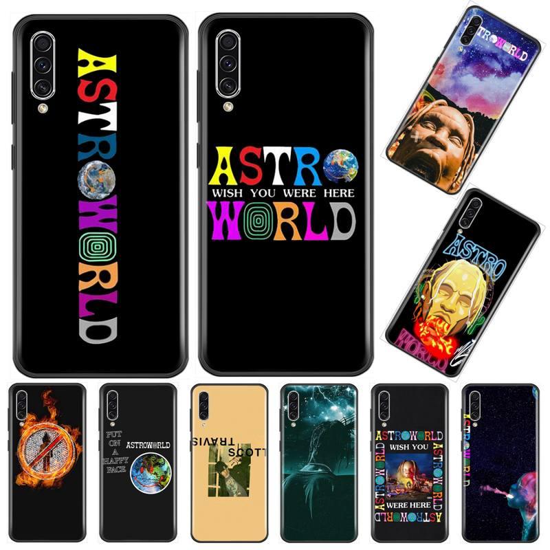 Travis Scott teléfono Astrodome caso de teléfono para Samsung Galaxy M10 20 30 40 50 70 71 6S A2 A6 A9 2018 J7 CORE PLUS estrella S10 5G C8