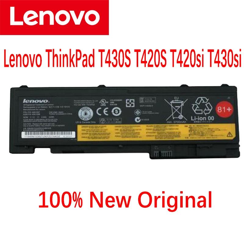 Оригинальный аккумулятор для ноутбука Lenovo ThinkPad T430S T420S T420si T430si 45N1039 45N1038 45N1036 42T4846 42T4847 81 +