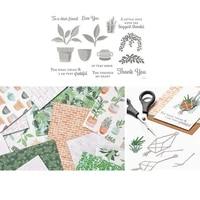 leaf metal cutting dies and stamps stencils for diy scrapbooking photo album decor die cut embossing paper card dies cut
