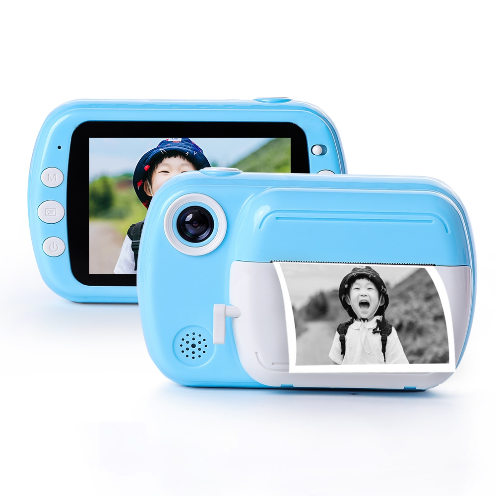 Kids Instant Camera For Children Print Camera 24MP HD 1080P Digital Camera For Kid Photo Camera Toy Christmas Gift For Girl Boy