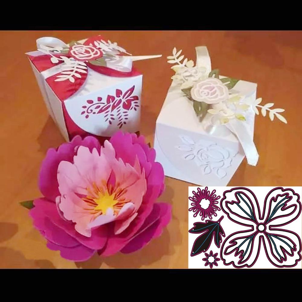 Metal Cutting die Beautiful flower-leaf Combo Scrapbook Paper Craft Handmade Card Album Punch Art Cutter Die