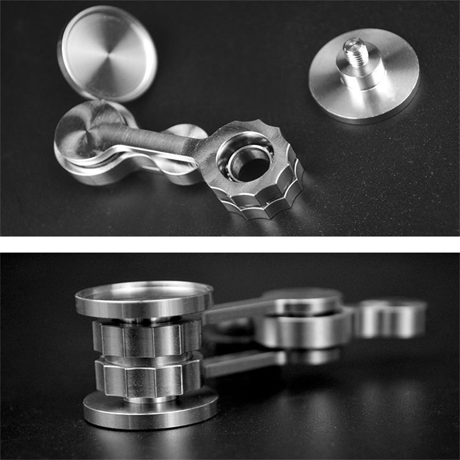 Novelty Unique Spin Put Aside Troubles Decompression Relax Toy Chaos Dangling Finger Fingertip Spinning Top Children Adults Toys enlarge