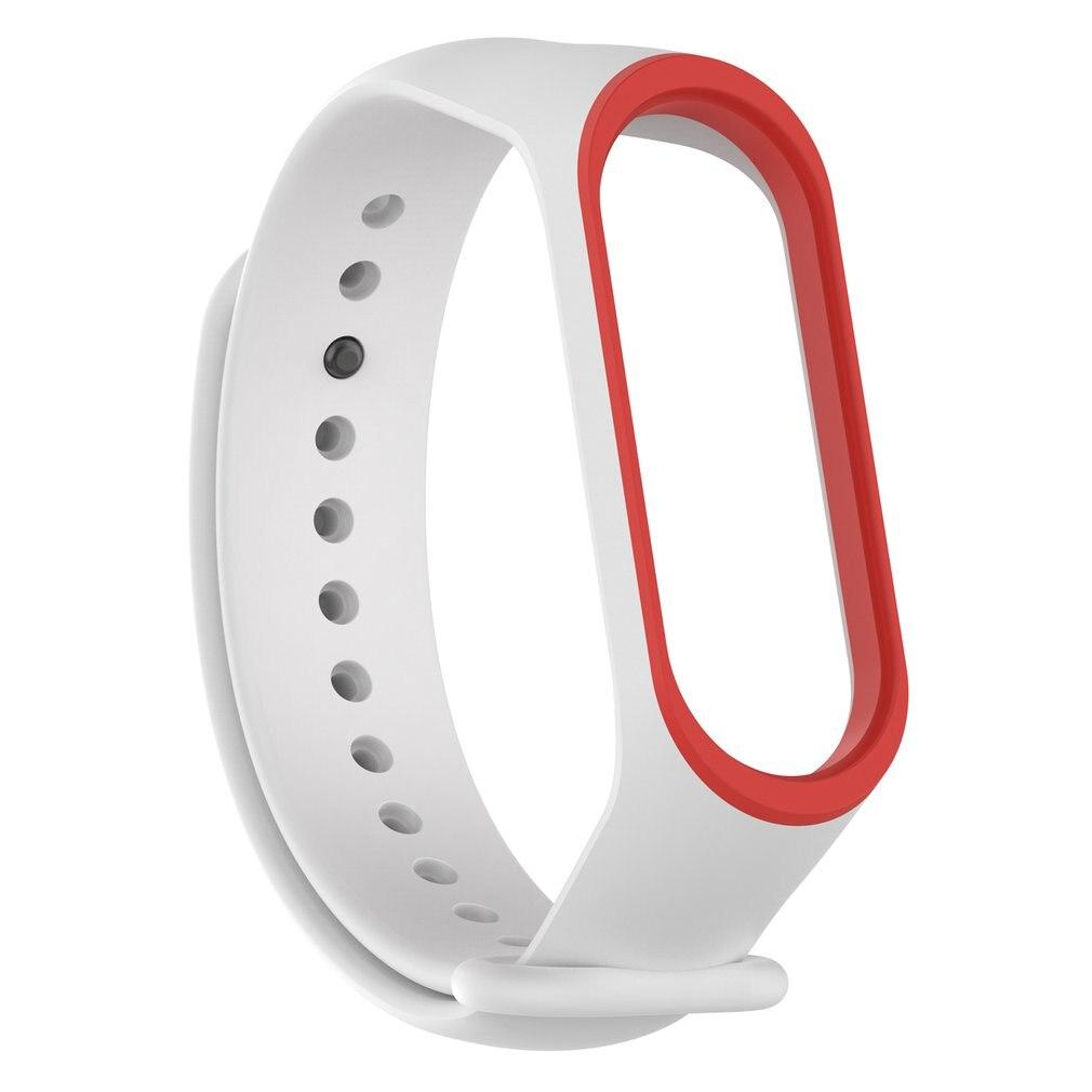 2 colores muñeca para Mi goma para banda 4 muñequera inteligente deportes pulsera Correa inteligente anillo Accesorios