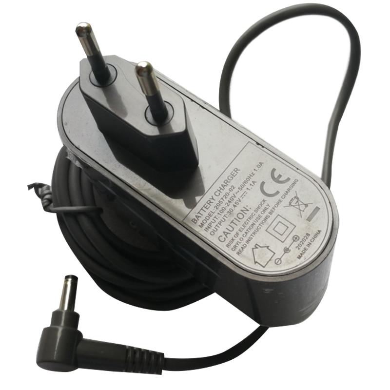 Подходит для Dyson V10 пылесос Зарядное устройство 30,45 V-1.1A пылесос Мощность адаптер-штепсельная вилка европейского стандарта
