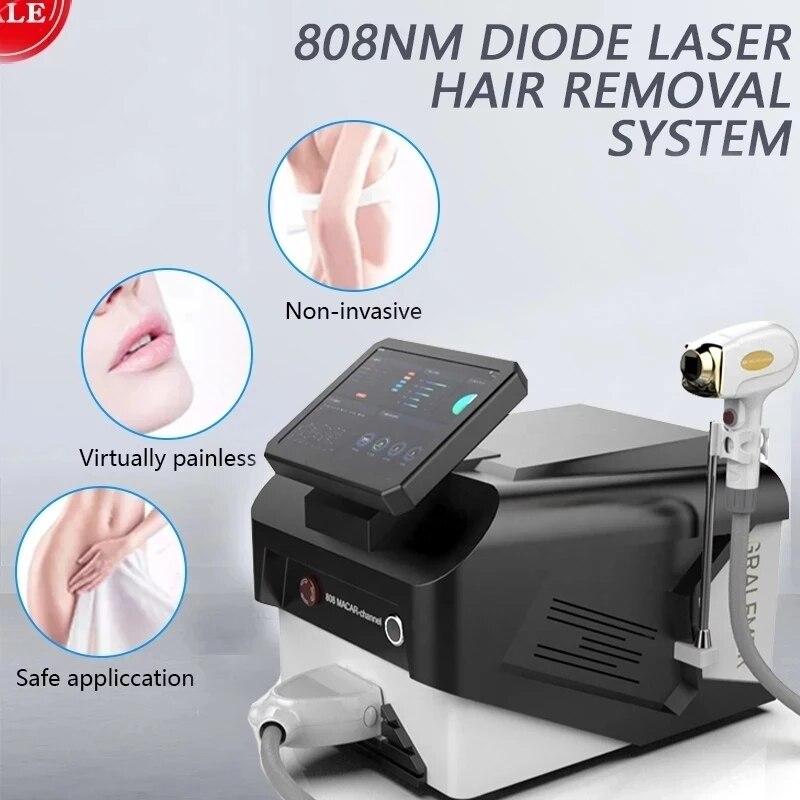 جهاز إزالة الشعر بالليزر للعلامة التجارية الجديدة لعام 2021 ، جهاز إزالة الشعر بالليزر للثلج ، جهاز احترافي لإزالة الشعر بالليزر