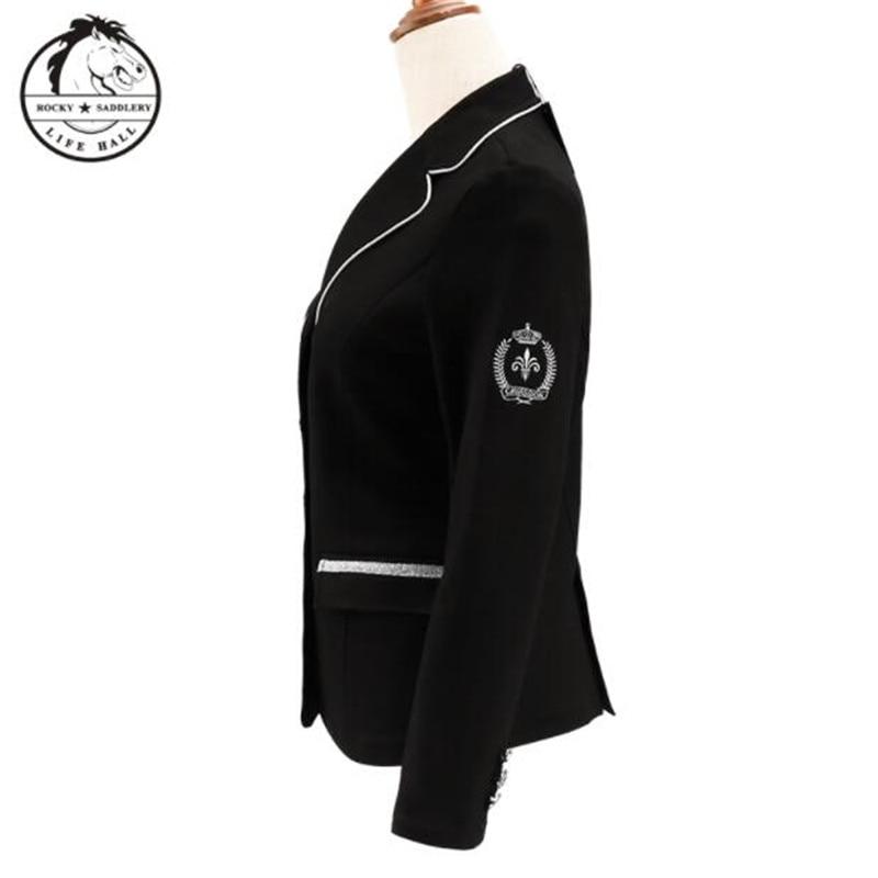 Cavassion Fashion Female Uniform Equestrian Women Competition Uniform Saddlery Sports Equipment Equestrian Clothes