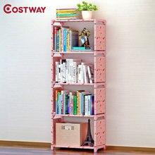 COSTWAY-estantería de almacenamiento para libros, mueble para el hogar, estantería para niños, Boekenkast