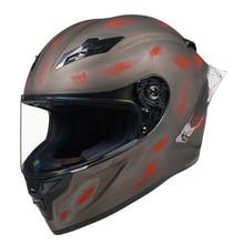 Casque intégral moto rcycle casque rouillé casco moto capacete de moto cicleta cascos para moto kask casco moto cross DOT approuvé